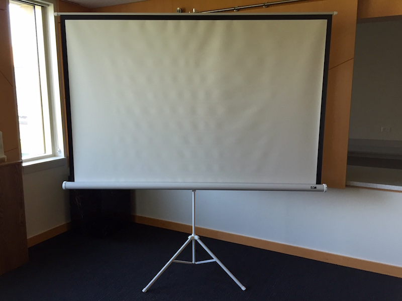 Projector Screen, large