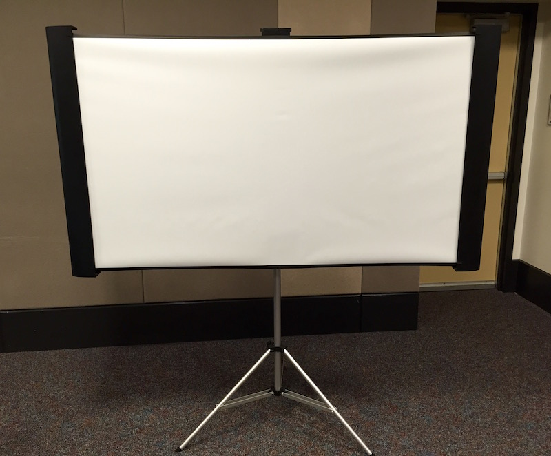 Projector Screen, small