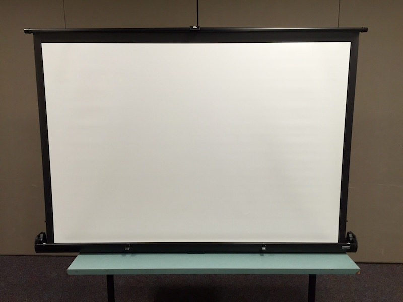 Projector Screen, table top