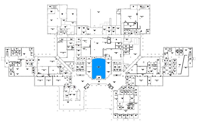 Room C120 location map