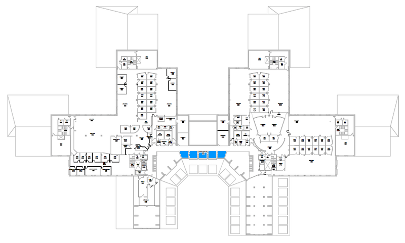 Room C300 location map