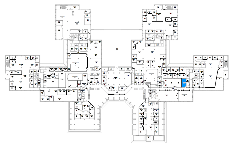 Room S240 location map