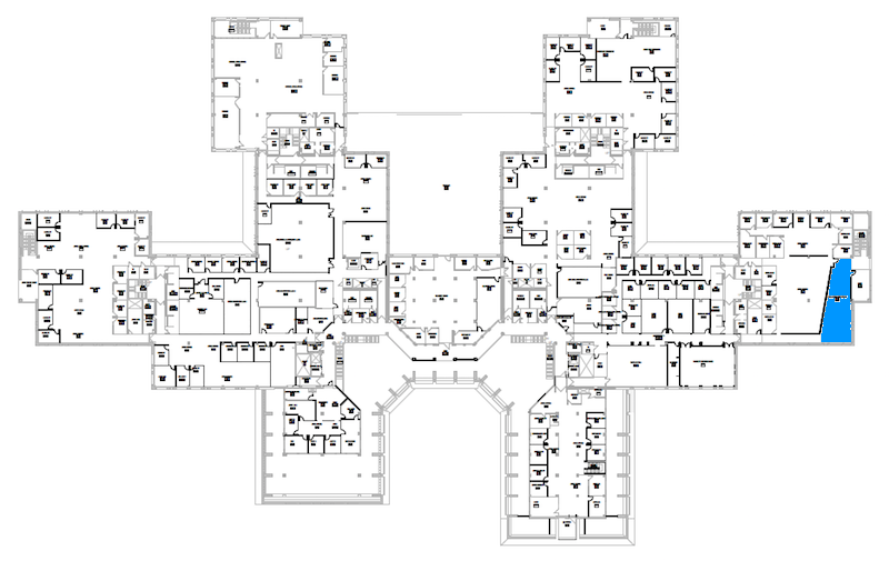 Room S248 location map