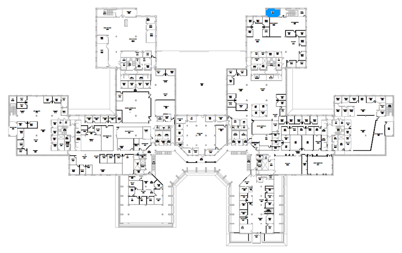 Room S298 location map