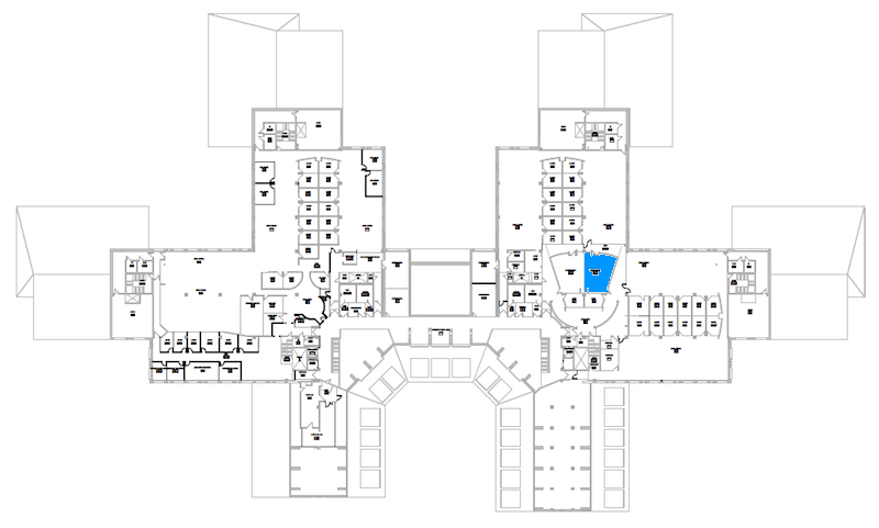 Room S372A location map