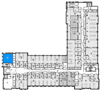 Room SEEL303 location map