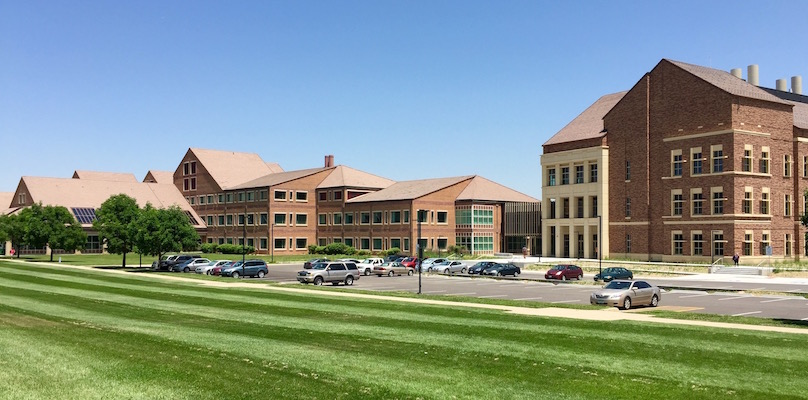 Exterior landscape of SEEC/SEEL buildings